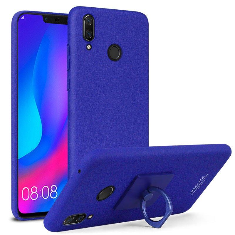 Imak-Finger-Ring-Kickstand-Matte-Case-Cover-for-Huawei-Nova-3