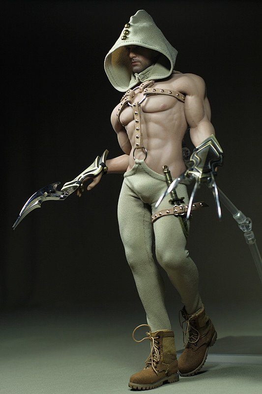 Phicen Scale 1//6 Steel Skeleton Male Soul Claw Clothes Set For Body New