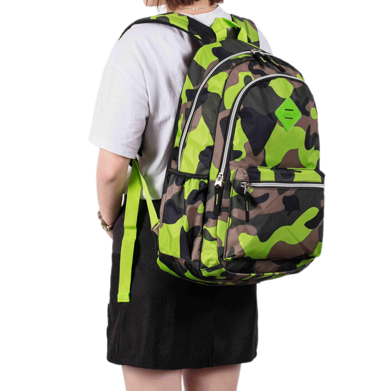 Boys-Grils-Camouflage-Stype-School-Bag-Backpack-Kids-Casual-Bag-3-Colors