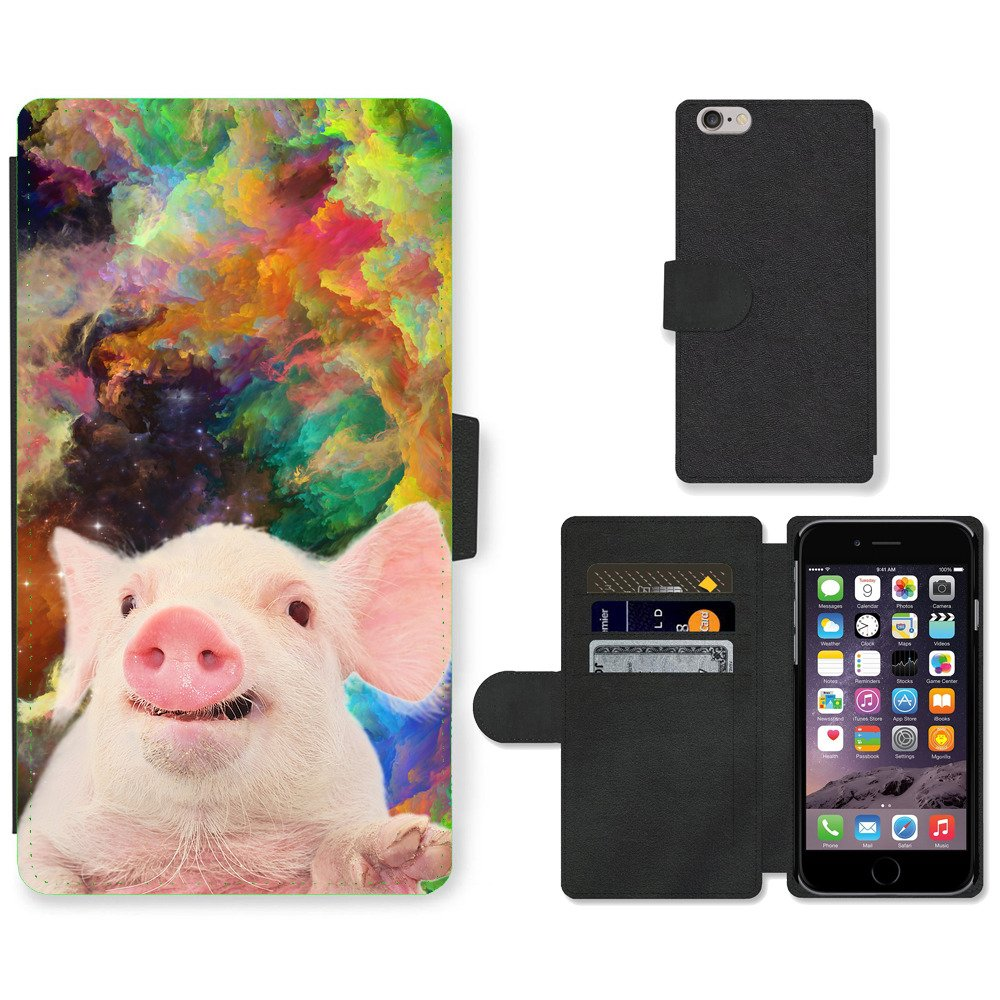 Phone-Card-Slot-PU-Leather-Wallet-Case-For-Apple-iPhone-cute-pig-color-compositi