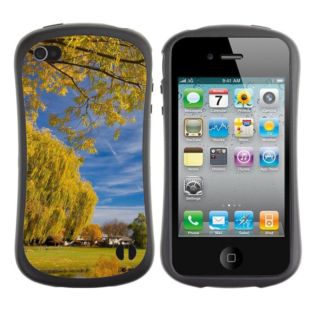 Anti-Shock-Tpu-Case-Bumper-Cover-For-Apple-iPhone-Wind-plays-in-yellow-foliage