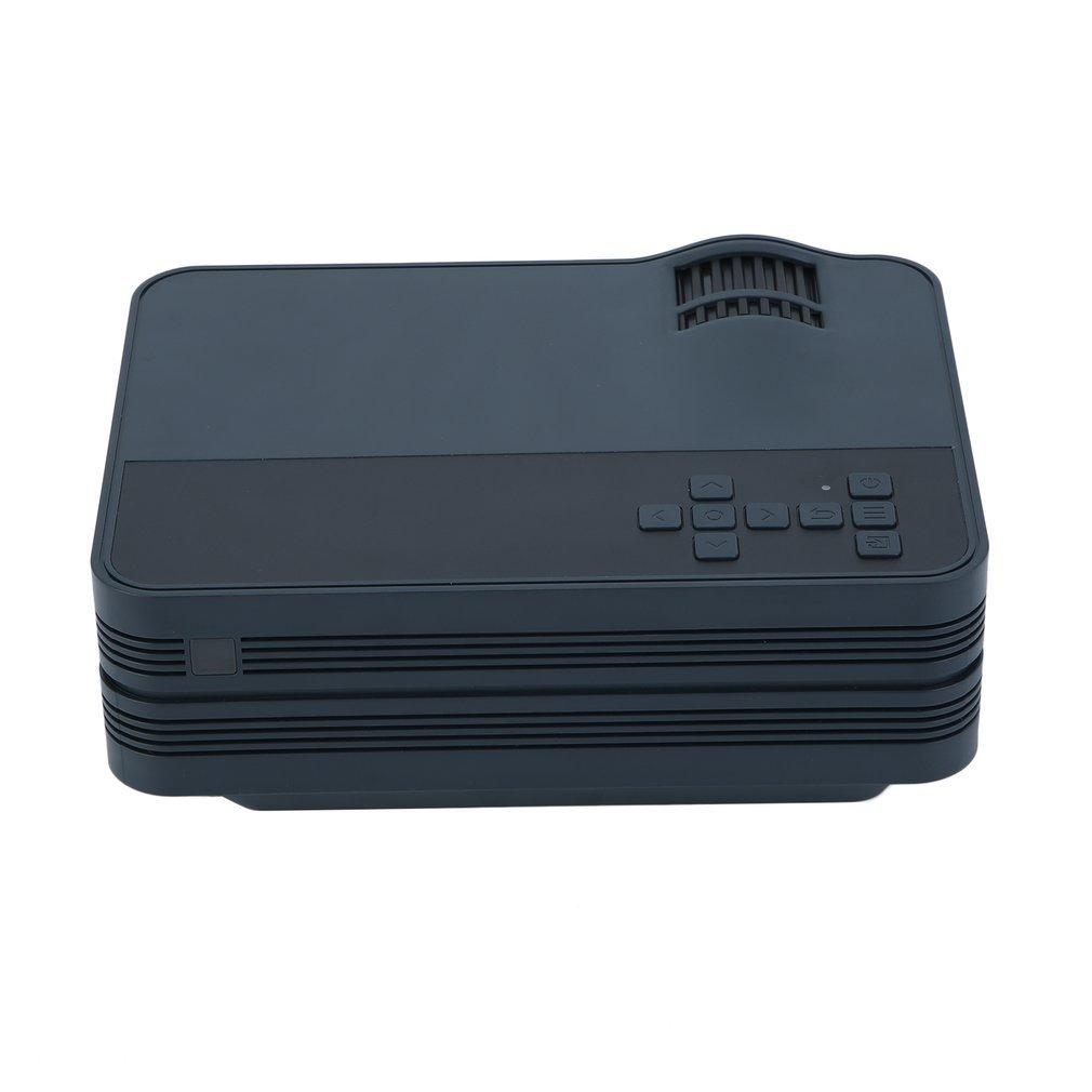 1080P Mini HD LED Projector Home Cinema Theater Multimedia PC USB TV AV HDMI DVD