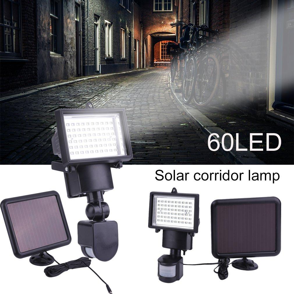 2pcs-60-100-LED-solaire-lumiere-lampe-capteur-de-mouvement-solaire-YE-Nouveau