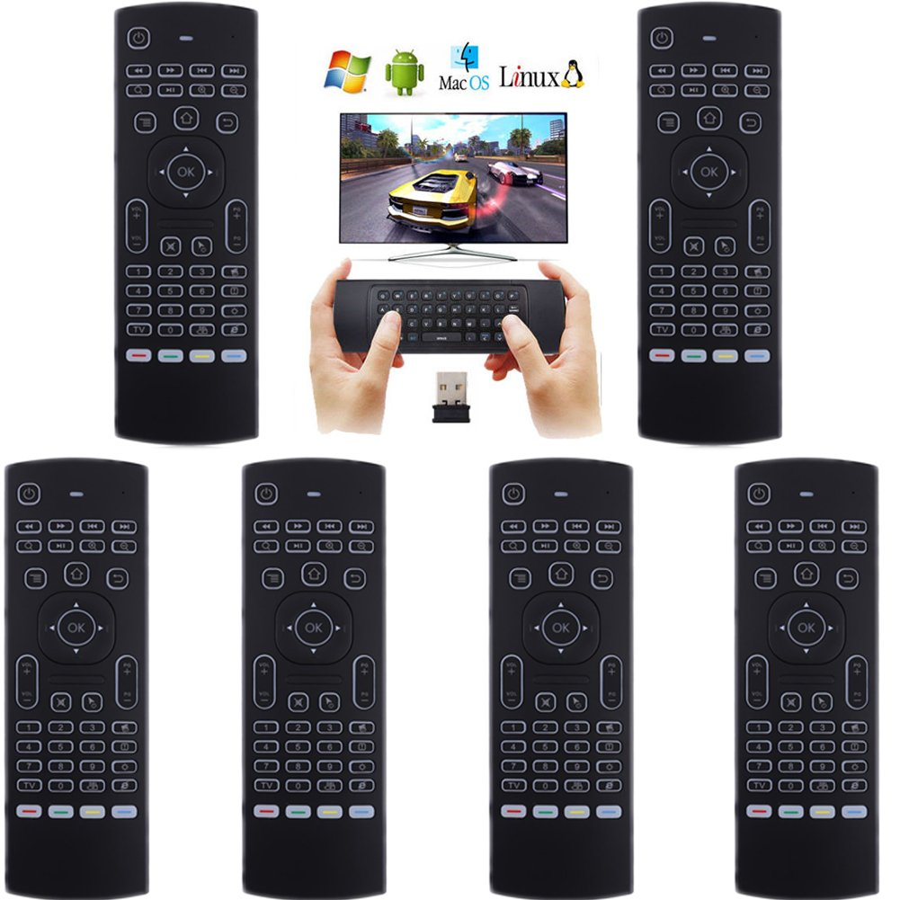 LOT 17 New2.4G Backlight Wireless Remote Control Keyboard forGoogle TV Box OY 29