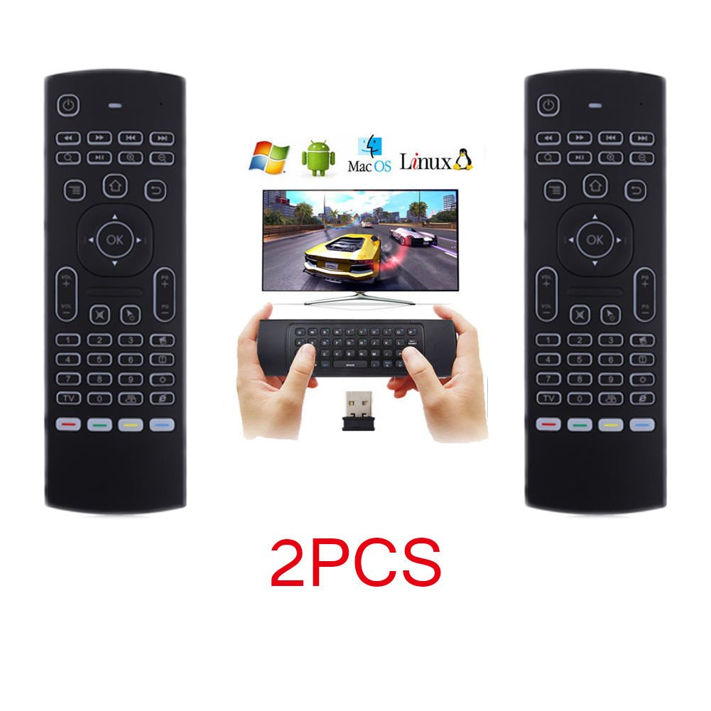 LOT 17 New2.4G Backlight Wireless Remote Control Keyboard forGoogle TV Box OY 25