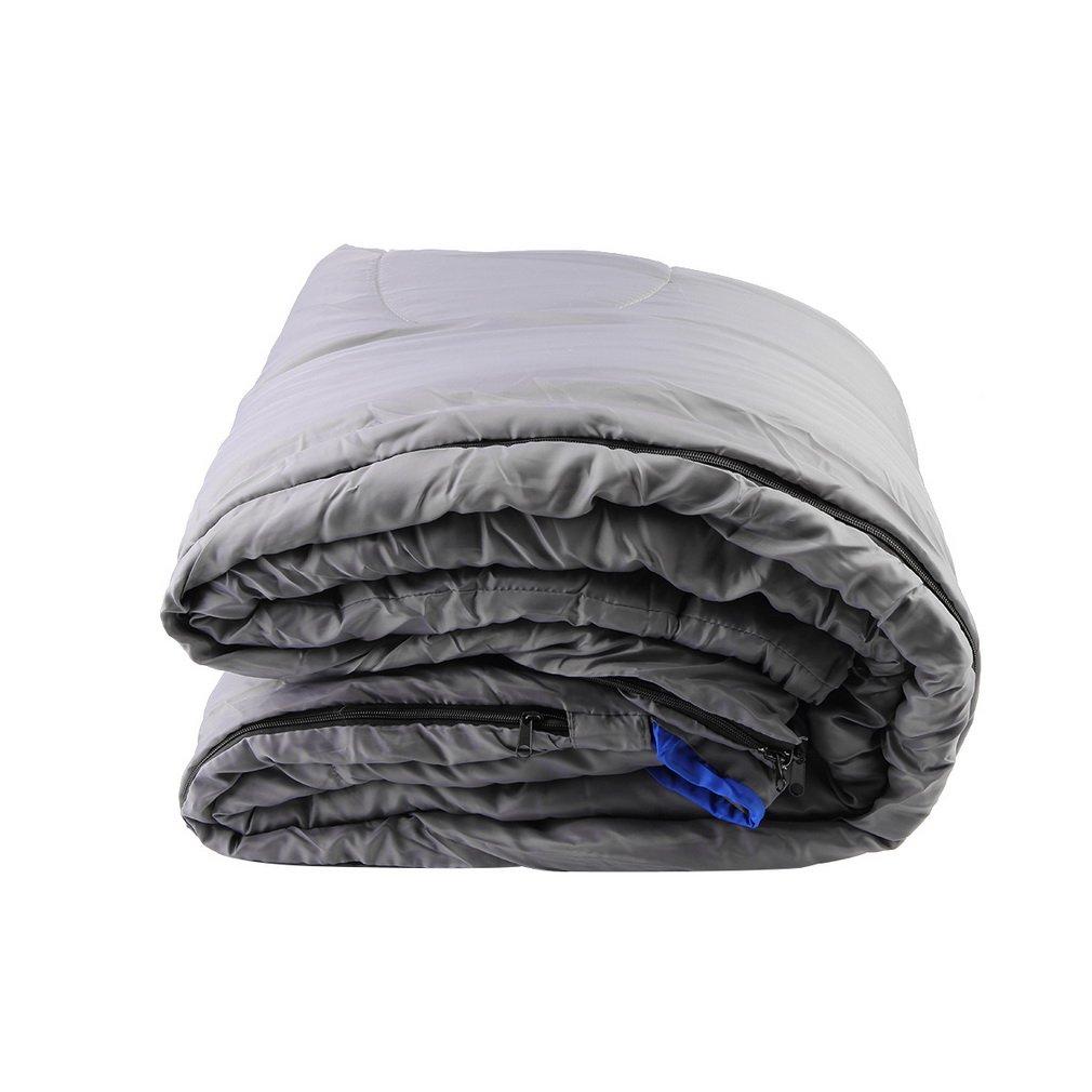 100PC Waterproof Adult Warm Winter Camping Hiking Portable Envelope Sleeping Bag