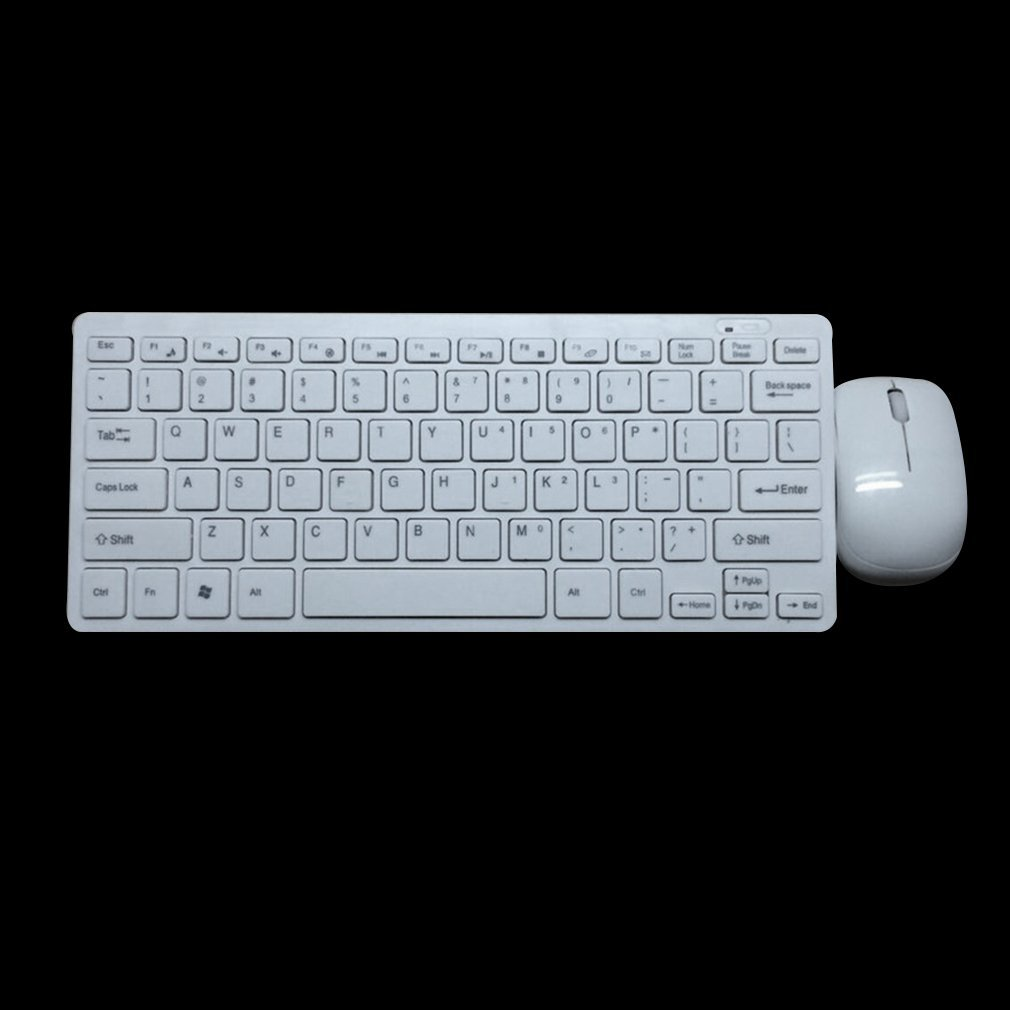 10X 2.4GHz Slim USB Wireless Keyboard And Mouse Set For Laptop PC Apple Mac US 15