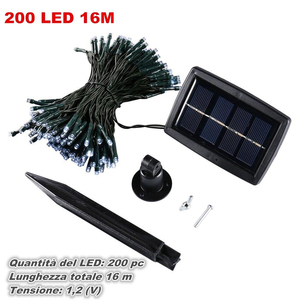 50-200-LED-Ghirlanda-di-luci-ad-energia-solare-LED-Stringa-Luci-Natale-Festa-KY