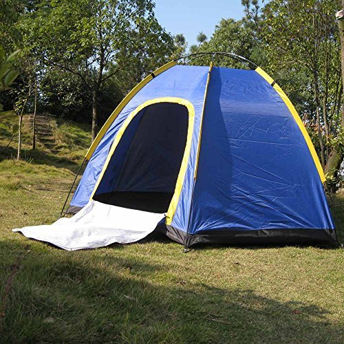NEW Waterproof Hiking Gear Automatic Pop Up Camping Tent 3-4 Person Layer VP