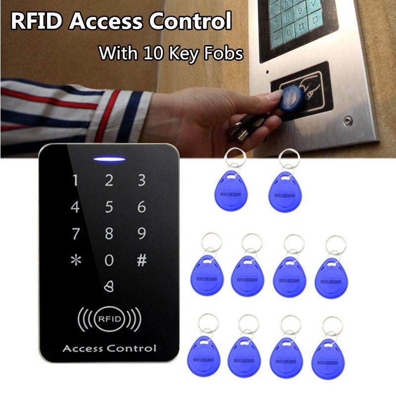 Security Waterproof Electric Door Keypad Lock Access Control