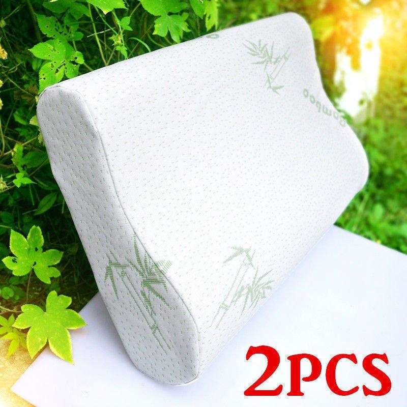 30-x-50cm-Sleep-Polyester-Fiber-Slow-Rebound-Memory-Foam-Pillow-Health-Care-amp