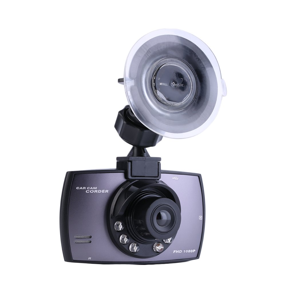 Full HD 1080P Car DVR Camera Dash Cam Video 2.3'' LCD G-sensor Night Vision DE