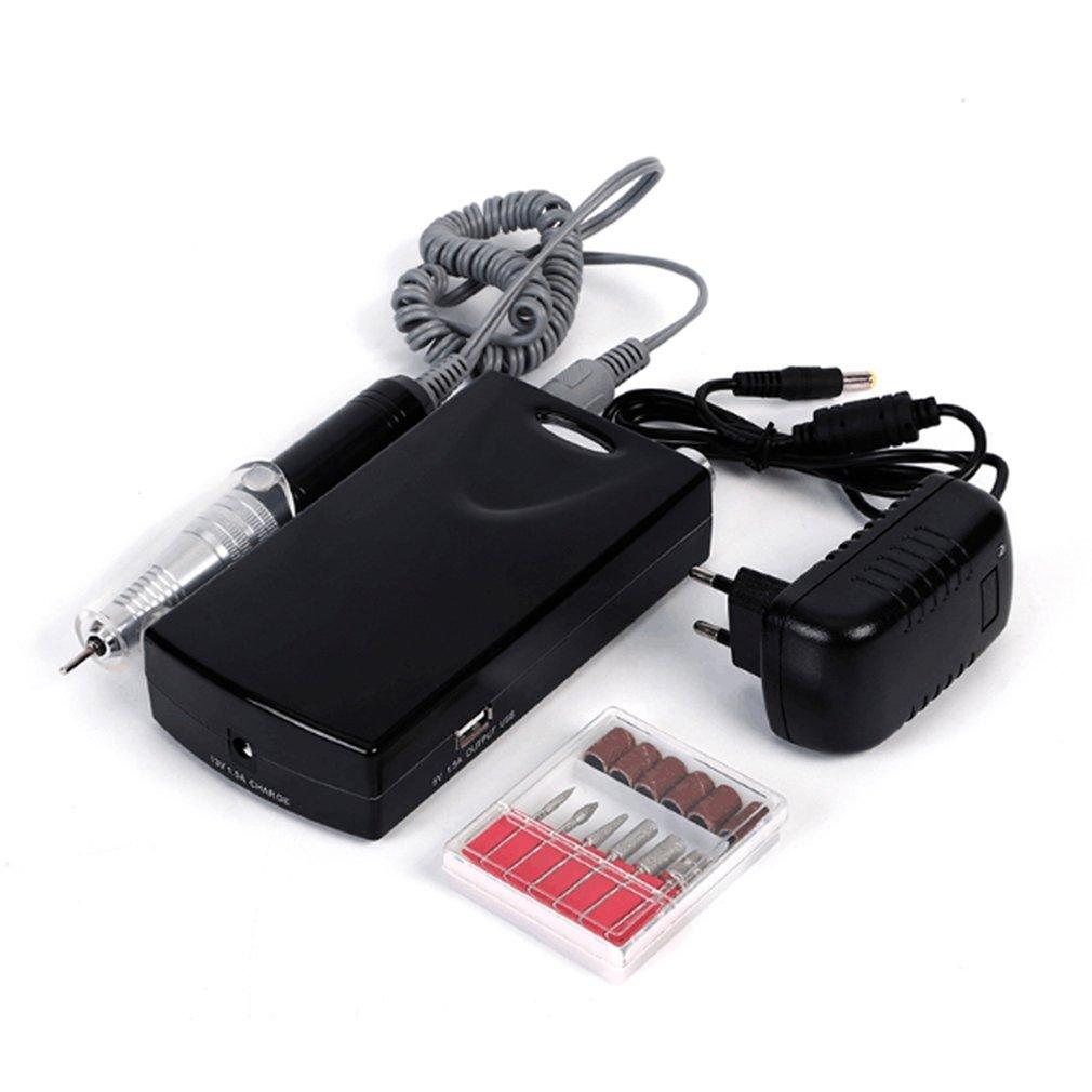 30000RPM-Portable-Rechargeable-Cordless-Electric-Nail-Drill-Manicure-Machine-Set thumbnail 10