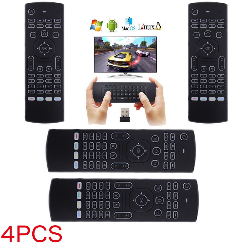 LOT 17 New2.4G Backlight Wireless Remote Control Keyboard forGoogle TV Box OY 27