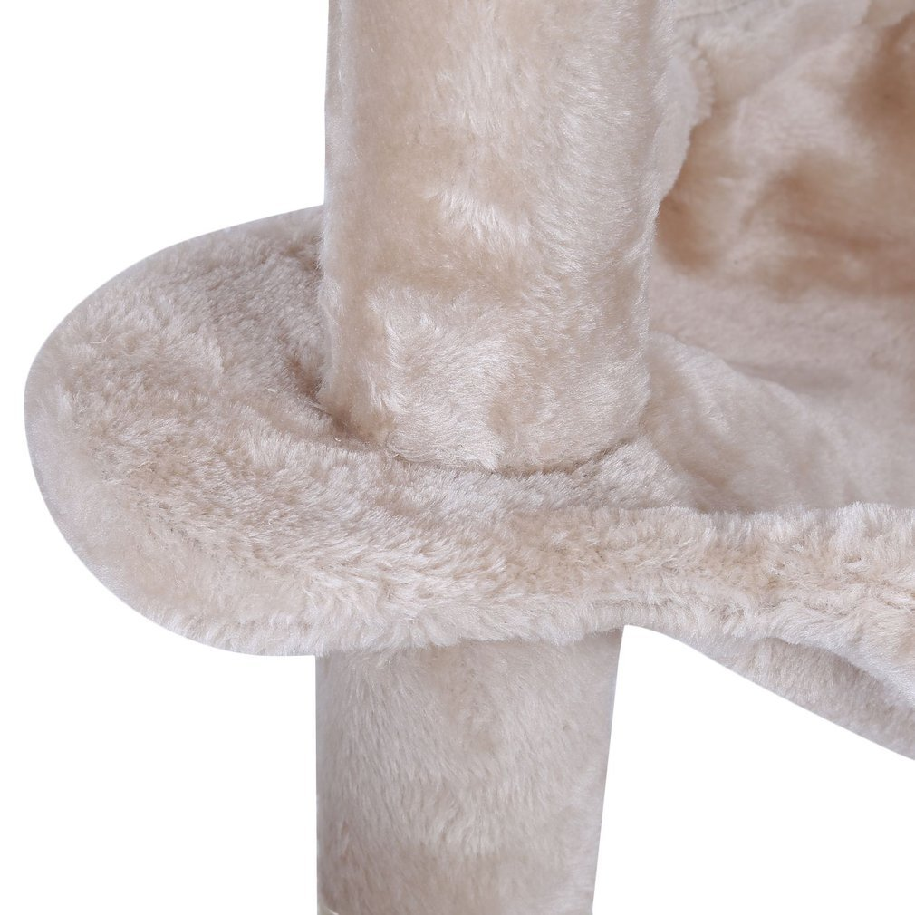 Cat-Tree-Scratching-Post-Activity-Centre-Grey-Fun-Play-House-143cm-4-colour thumbnail 36