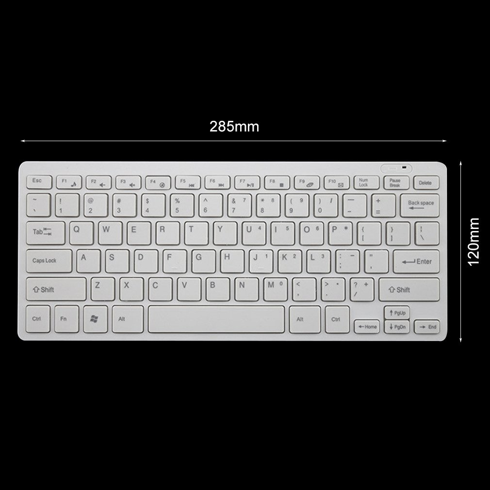 10X 2.4GHz Slim USB Wireless Keyboard And Mouse Set For Laptop PC Apple Mac US 13