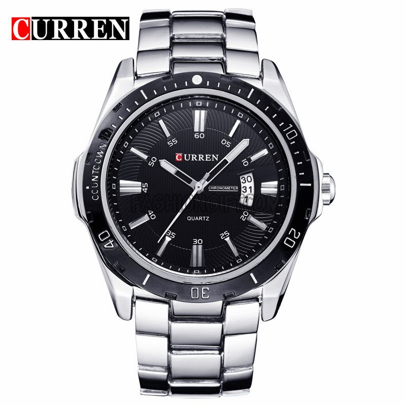 Mens-Fashion-Date-Stainless-Steel-Army-Military-Analog-Quartz-Sport-Wrist-Watch