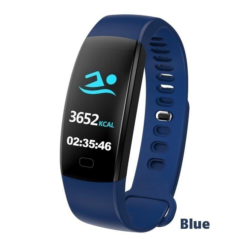 F64HR-Fitness-Smart-Bracelet-Bluetooth-Smart-Watch-Tracker-Heart-Rate-Monitor miniature 16