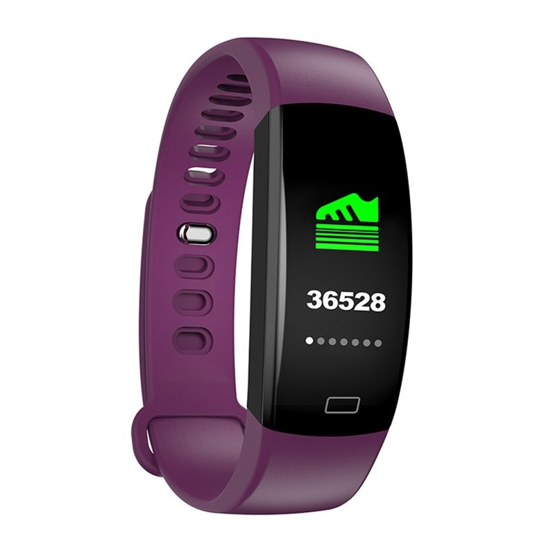 F64HR-Fitness-Smart-Bracelet-Bluetooth-Smart-Watch-Tracker-Heart-Rate-Monitor miniature 17