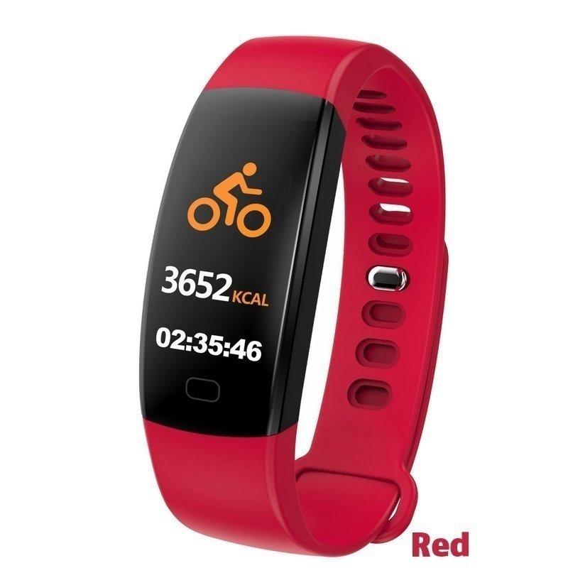 F64HR-Fitness-Smart-Bracelet-Bluetooth-Smart-Watch-Tracker-Heart-Rate-Monitor miniature 19