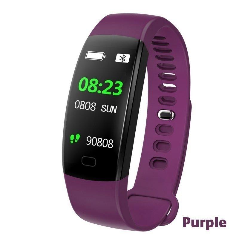F64HR-Fitness-Smart-Bracelet-Bluetooth-Smart-Watch-Tracker-Heart-Rate-Monitor miniature 18