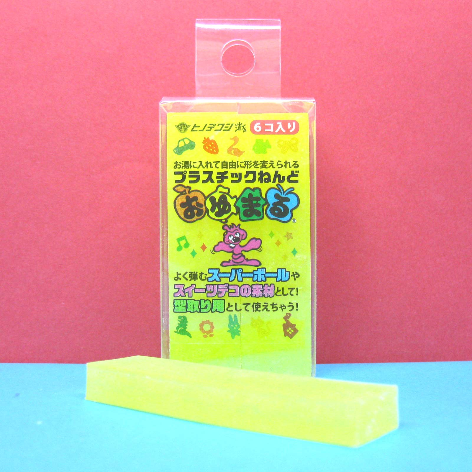 Oyumaru-modeling-Compound-Moulding-Stick-Yellow-12pcs-set
