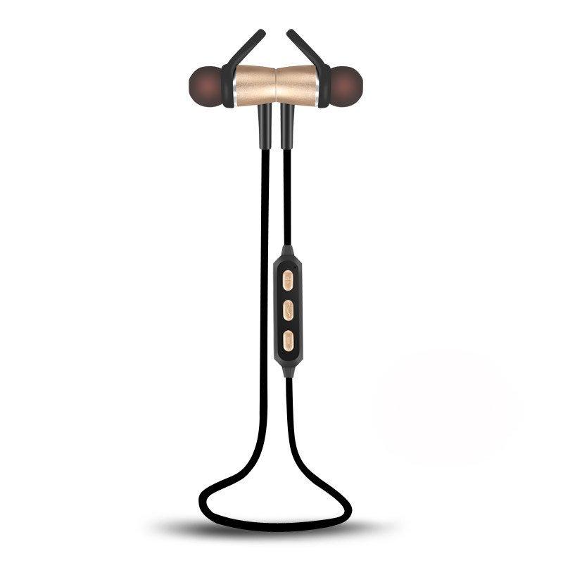 Bluetooth Wireless Magnet Stereo Earphone Earbuds Sport Headset Headphone w/ Mic