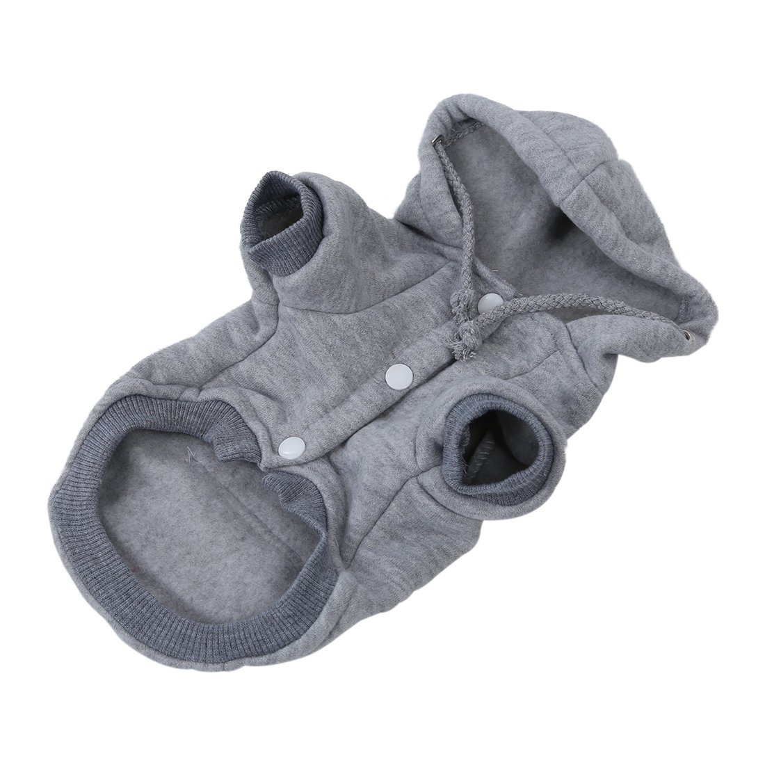 strickhundejacke mit kapuze weihnachtswelpen mantel kleidung grau xl l6f8 ebay. Black Bedroom Furniture Sets. Home Design Ideas