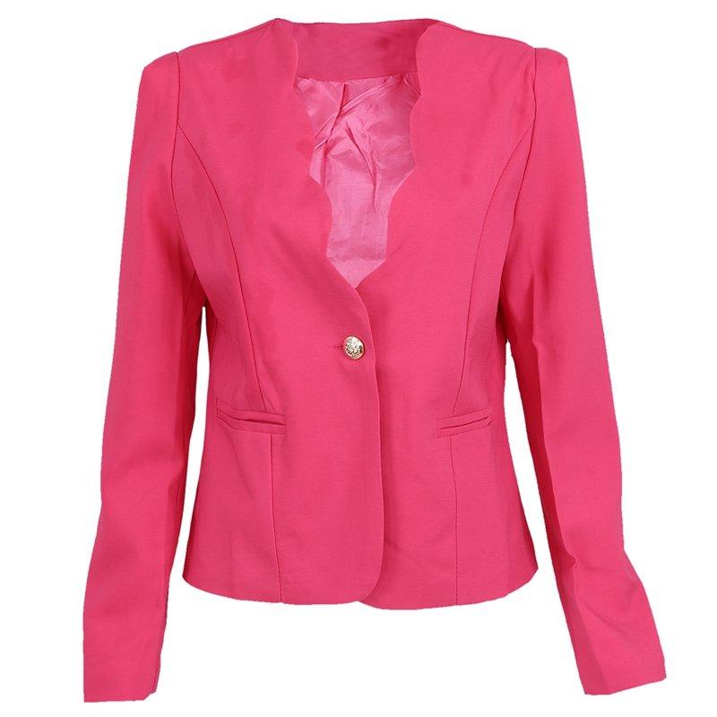 Veste D'automne Pour Loisirs Slim Costume Ro Bureau Femmes Court De Du S8z5 gqwgCxr6