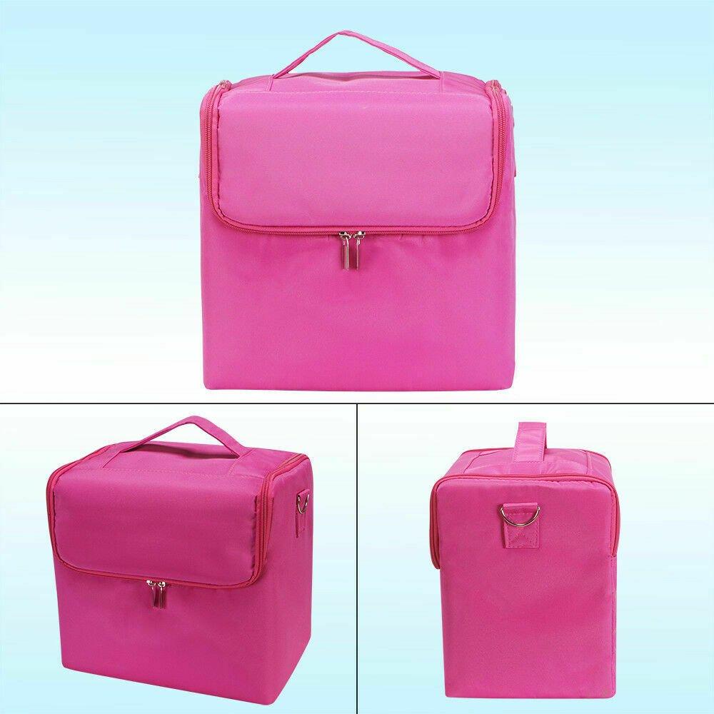 Large-Portable-Travel-Beauty-Case-Cosmetic-Makeup-Vanity-Case-Nail-Box-Carry-Bag thumbnail 14