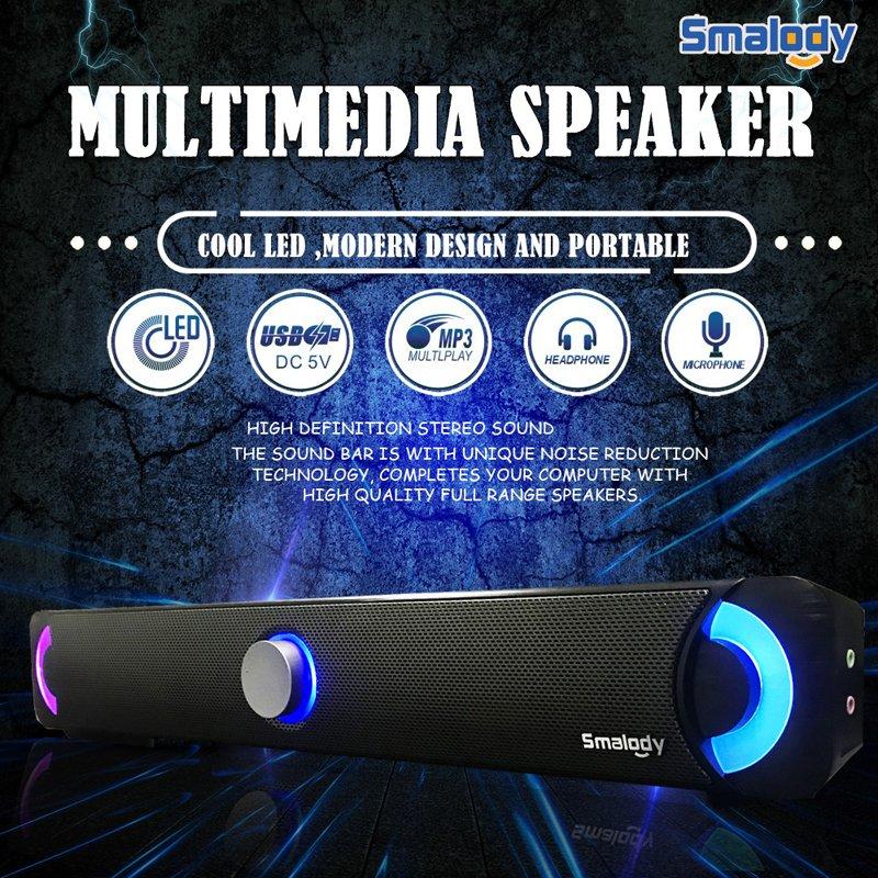 Bluetooth Wireless TV Soundbar Speaker 3D Sound Bar Home Theater Subwoofer HiFi