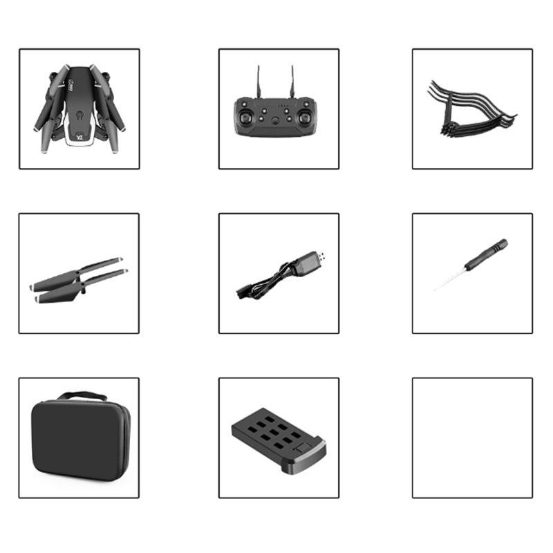 √Drone Pro WIFI FPV 4K HD Dual Camera Battery Foldable Selfie RC Quadcopter UK√