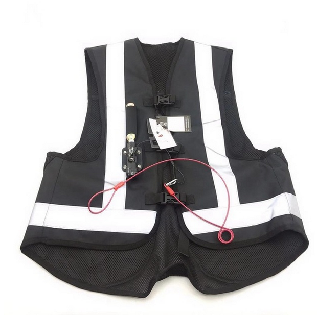 Air Bag Vest Protective Safety System Inflatable Turtle Motorcycle Jacket
