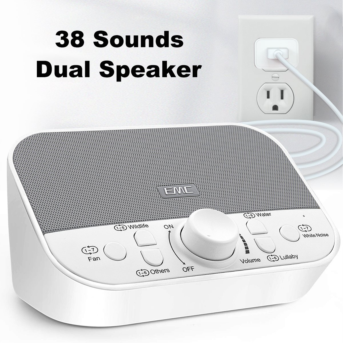 sound therapy machine white noise maker baby