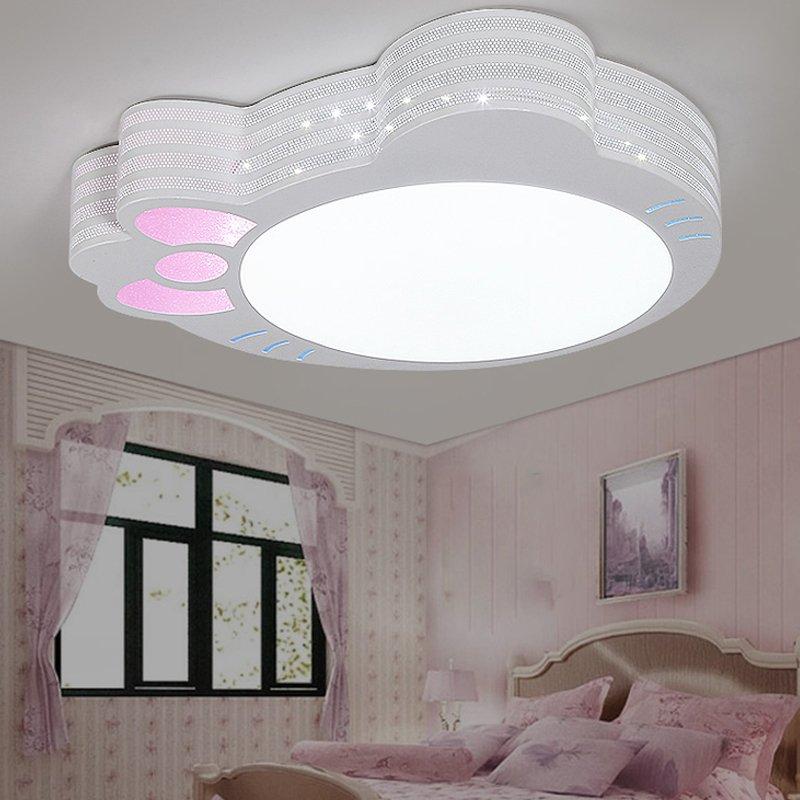 48w led deckelampe led deckenleuchte kinderzimmer beleuchtung kinderleuchte warm ebay. Black Bedroom Furniture Sets. Home Design Ideas