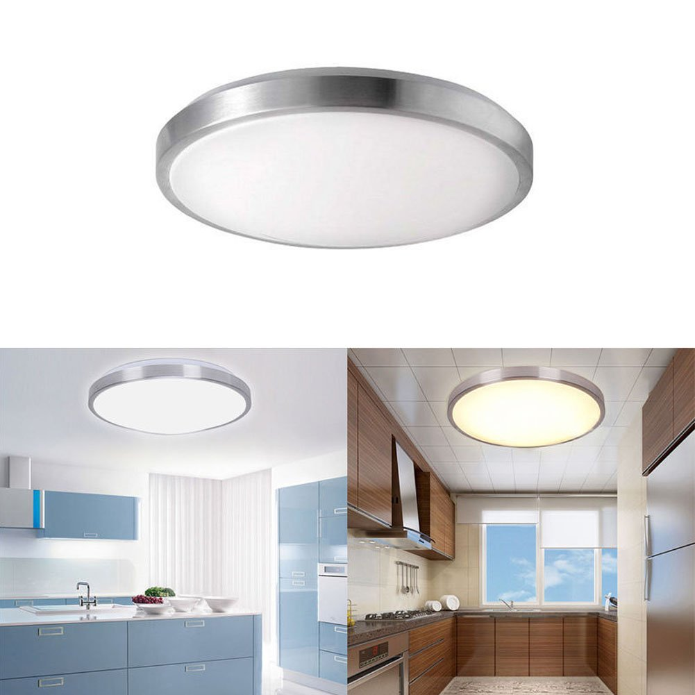 12w led deckenleuchte decken lampe tageslicht beleuchtung badleuchte ip44 6000k ebay. Black Bedroom Furniture Sets. Home Design Ideas