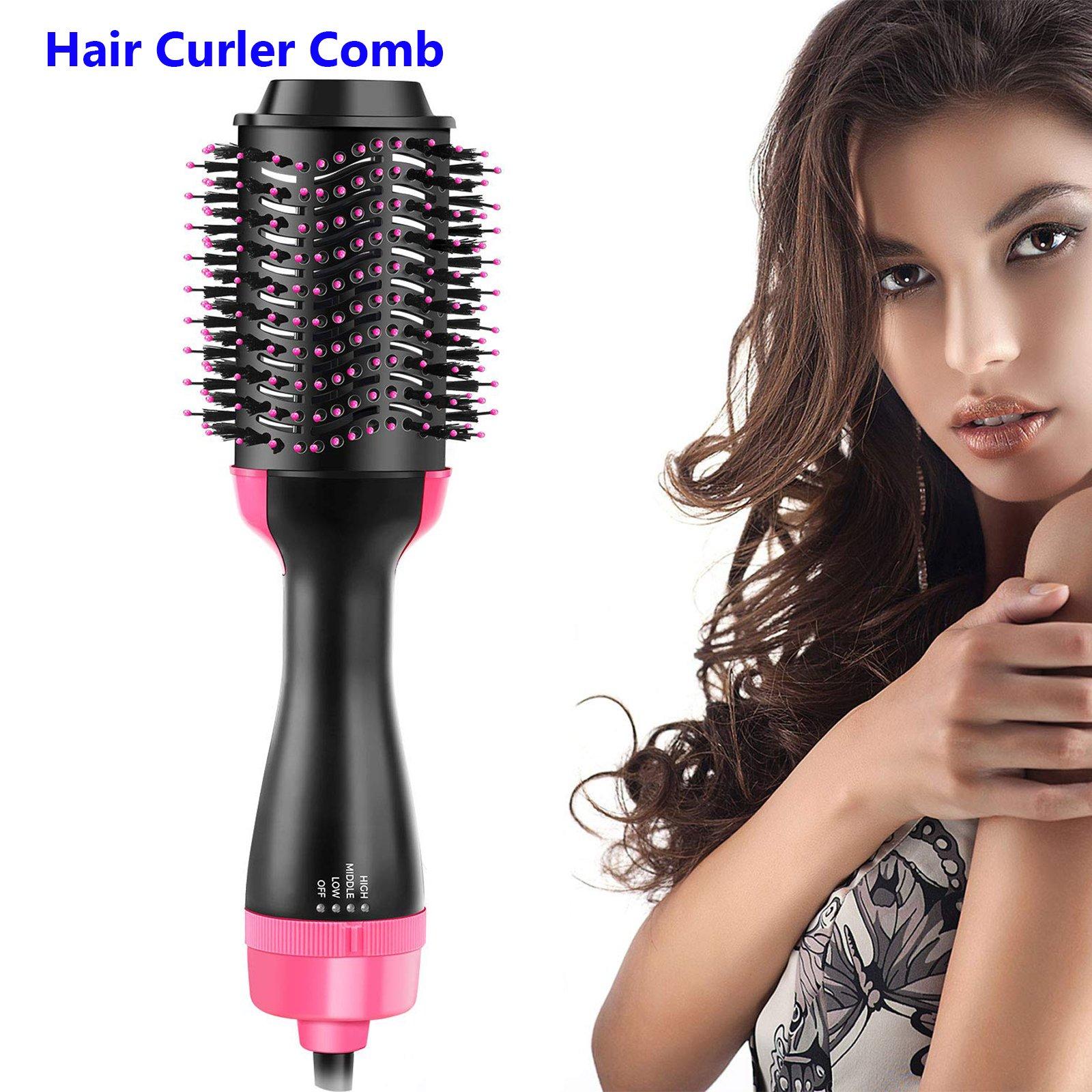 2 in 1 hair blow dryer volumizer