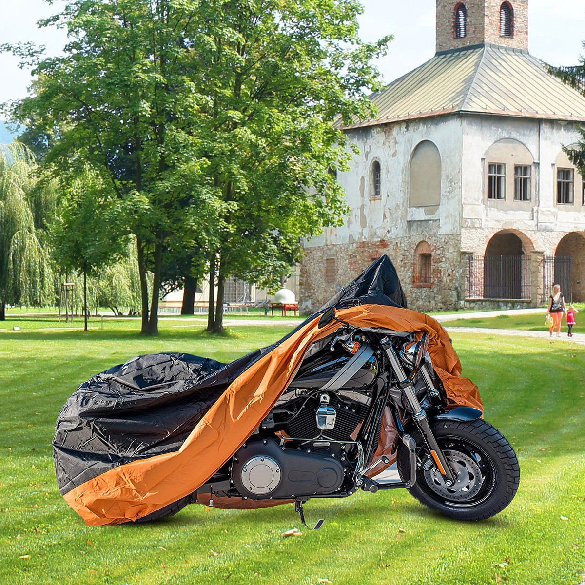 Motorcycle Cover Bike Waterproof Outdoor Rain Dust Sun UV Scooter Protector XXL