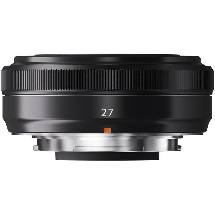 Fujifilm Fujinon Fuji XF 27mm f/2.8 X-mount Lens Black 4