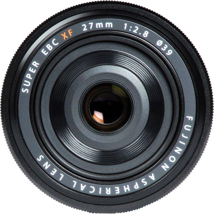 Fujifilm Fujinon Fuji XF 27mm f/2.8 X-mount Lens Black 6