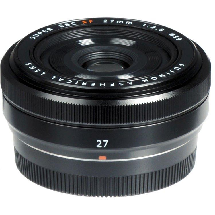 Fujifilm Fujinon Fuji XF 27mm f/2.8 X-mount Lens Black 8