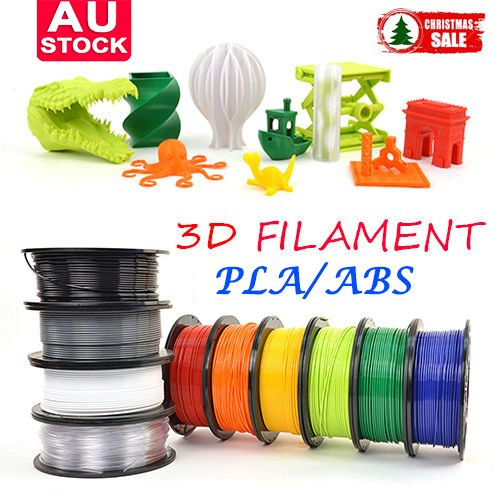 3D Printer Filament 1.75mm ABS PLA 1KGRoll Colours Engineer Drawing Art UK