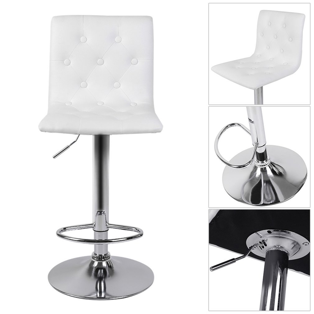 K chenstuhl esszimmerstuhl 2er set stuhl kunstleder drehstuhl h henverstellbar ebay - Esszimmerstuhl hohenverstellbar ...