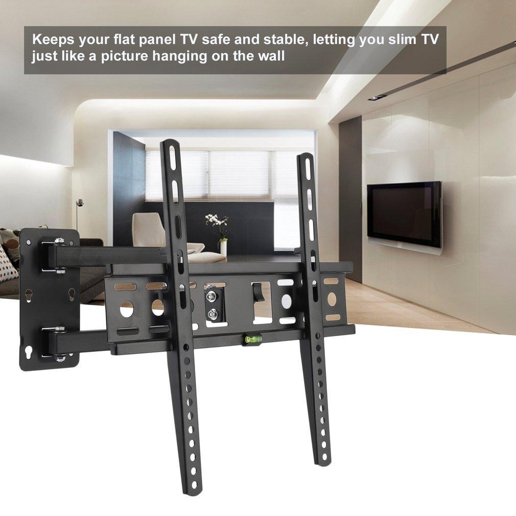 lcd led tv fernseher wandhalter wandhalterung neigbar schwenkbar 26 50 zoll su ebay. Black Bedroom Furniture Sets. Home Design Ideas