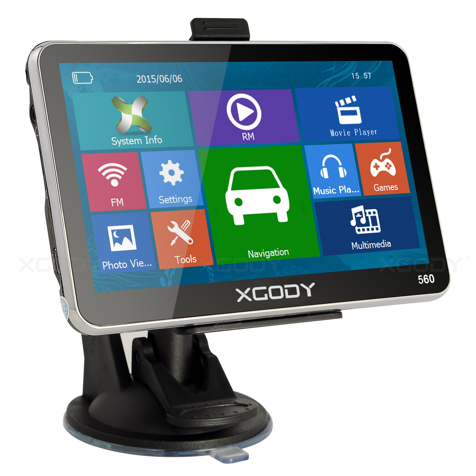 XGody 560 Large Touch Screen Navigation System