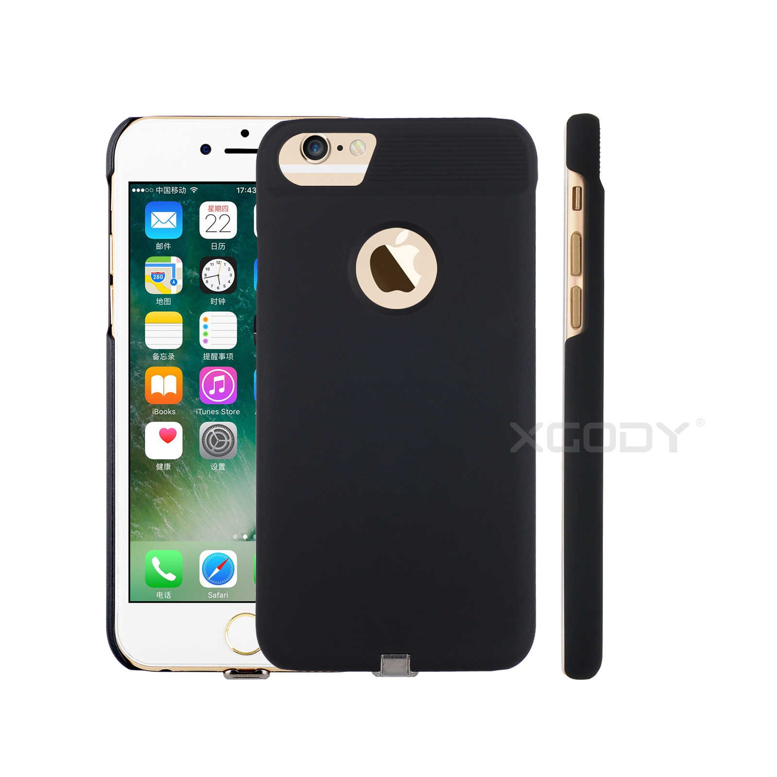 Iphone 7/6/6s Wireless Charger Case For Charing Pad
