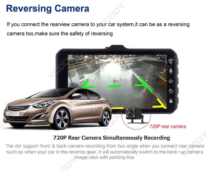 Reversing view car system