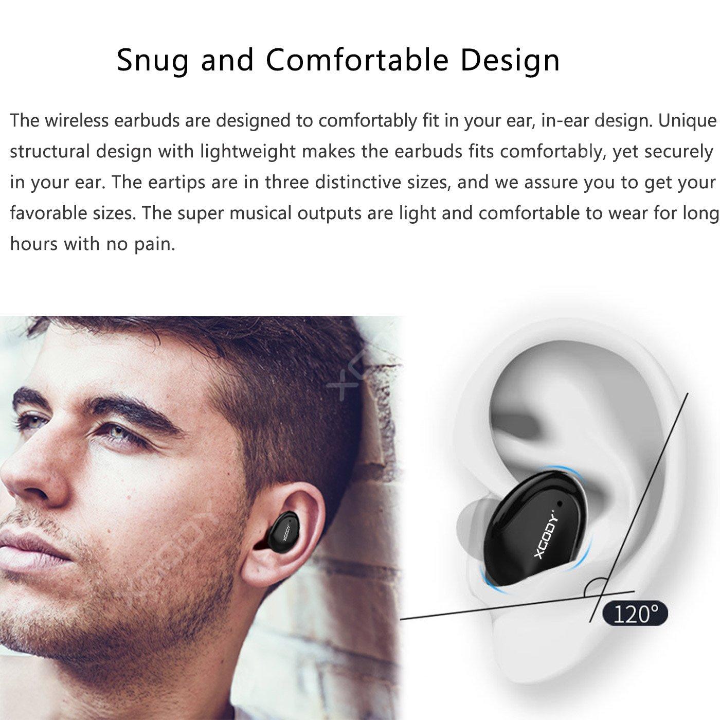 XGody Mini Wireless Bluetooth 5.0 Earbuds