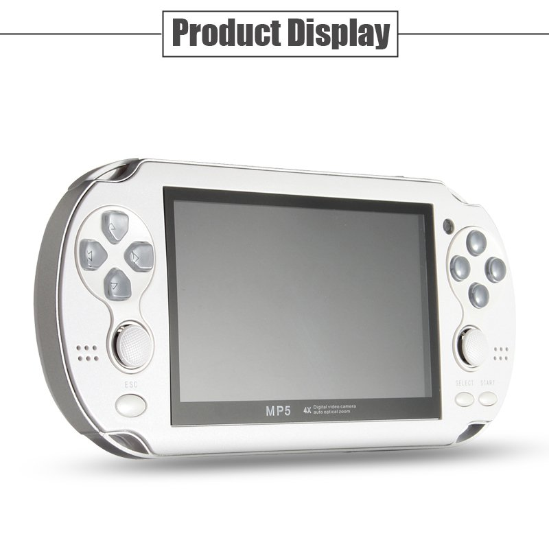 Portable Free Built-In Games Handheld Game Console