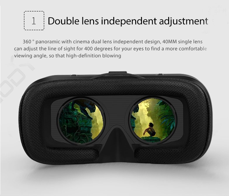3D Glasses Cardboard VR Glasses For Smartphone